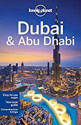 Lonely Planet Dubai travel guide book cover