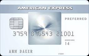 American Express Amex EveryDay Preferred credit card