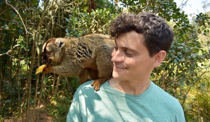 Lemur Island in Madagascar