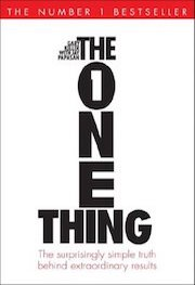 book cover of The One Thing