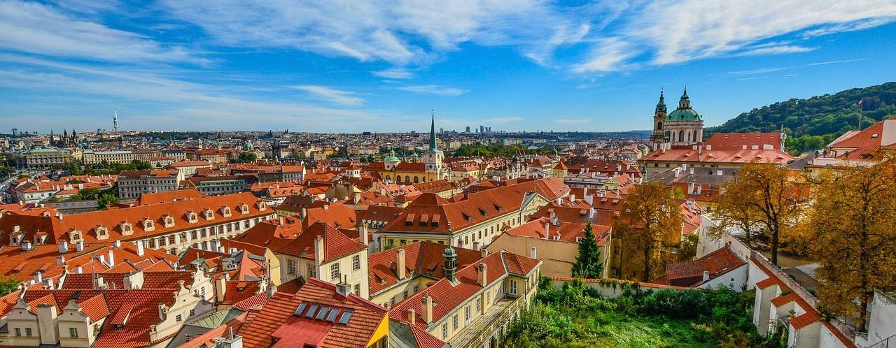 Scenic photo of Prague