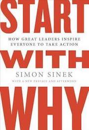 book cover of Start with Why