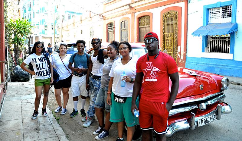 FLYTE students in Cuba