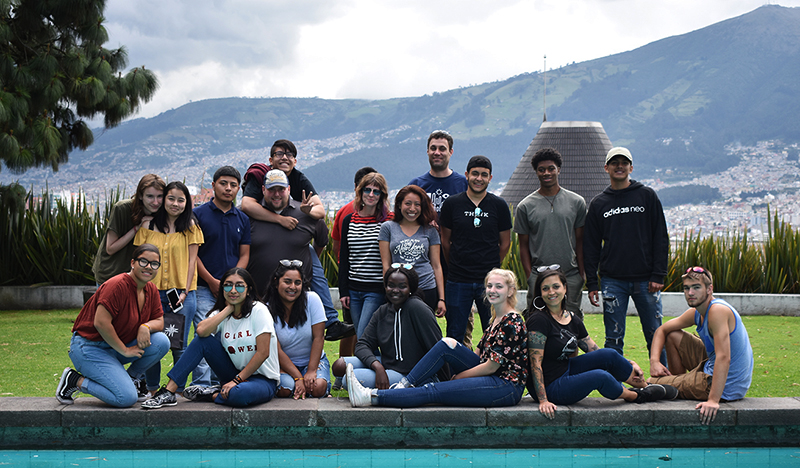 FLYTE students in Ecuador