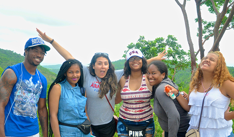 Anacostia students in Cuba